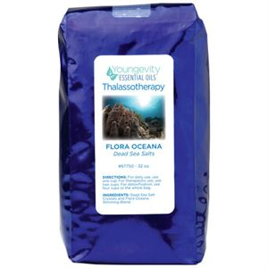 Picture of Dead Sea Salts  Flora Oceana - 32 oz